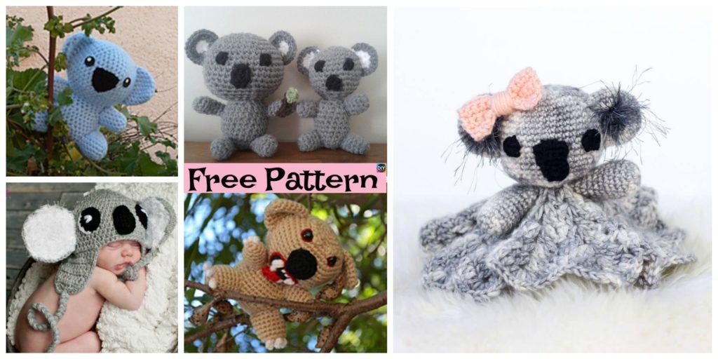 Cuddly Crochet Koala Lovey Free Patterns Diy 4 Ever