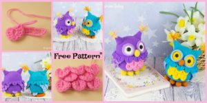 diy4ever-Cute Crochet Owl Amigurumi - Free Pattern