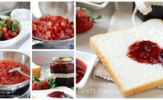 diy4ever Delicious Homemade Strawberry Jam Recipe F 332x205 - Delicious Homemade Strawberry Jam Recipe