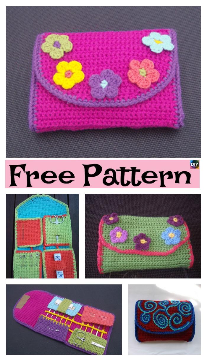 Useful Crochet Hook Case Free Pattern Diy 4 Ever