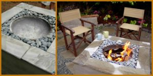 diy4ever- Useful DIY Concrete Fire Pit Tutorial