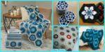 diy4ever 10 Beautiful Crochet Hexagon Free Patterns F 150x75 - 10 Beautiful Crochet Granny Squares - Free Patterns