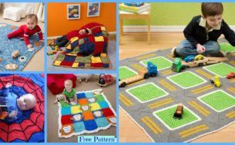 diy4ever-10 Most Adorable Crochet Kids Blanket - Free Patterns