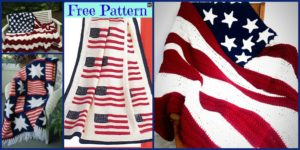 diy4ever-6 Unique Crochet American Afghan Free Patterns