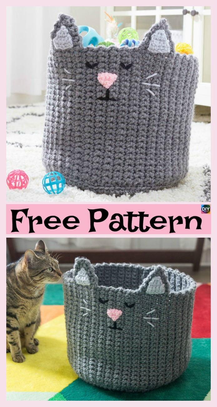 8 Most Adorable Crochet Basket Free Patterns