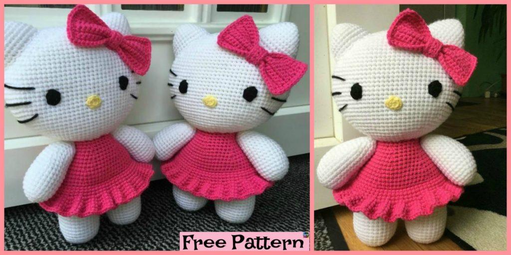 Adorable Crochet Hello Kitty Free Pattern Diy 4 Ever