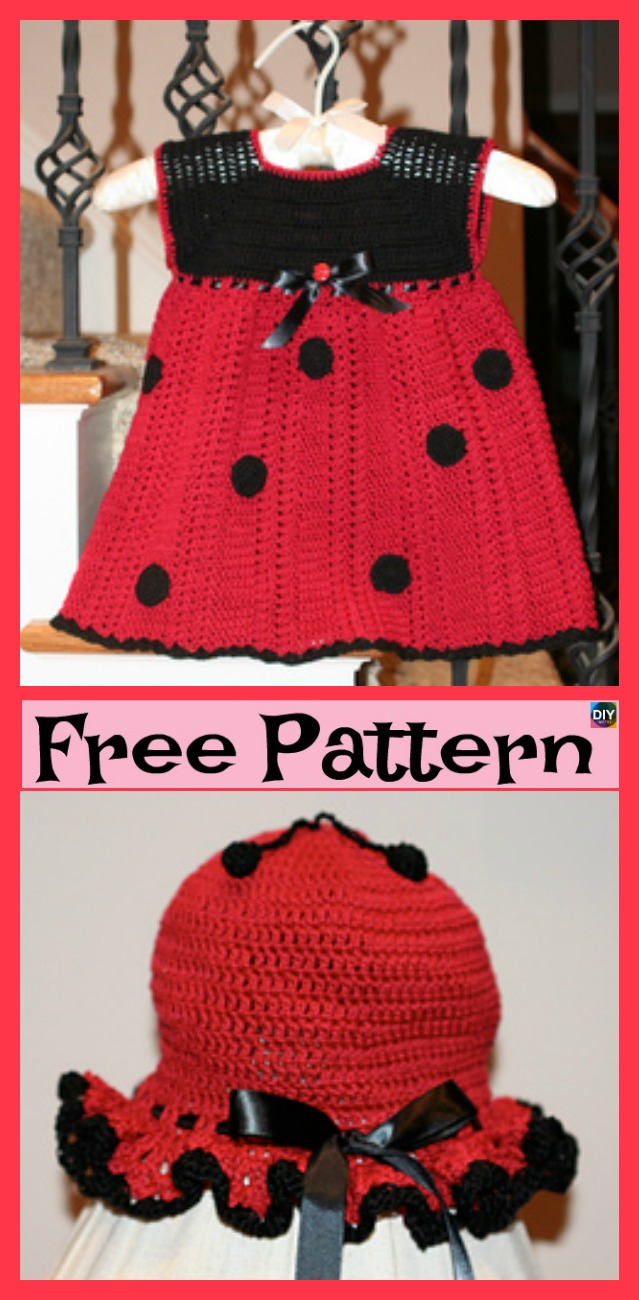 diy4ever-Adorable Crochet Lady Bug Project - Free Patterns