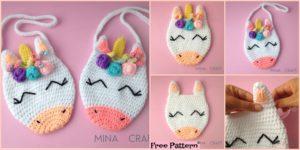 diy4ever Adorable Crochet Unicorn Purse Free Pattern F 300x150 - Beautiful Crochet Unicorn Girl - Free Pattern