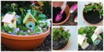 diy4ever- Beautiful DIY Kids Fairy Garden - Free Tutorial