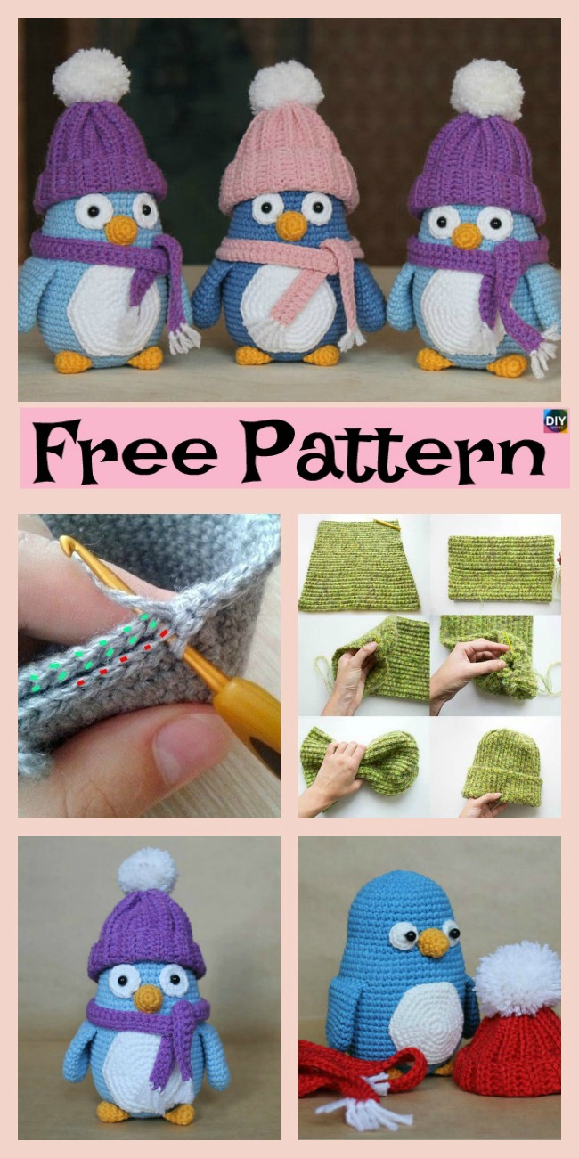 diy4ever- Crochet Baby Penguin Amigurumi - Free Pattern