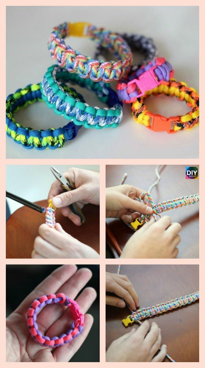 diy4ever- DIY Paracord Bracelet Tutorial - Step by Step