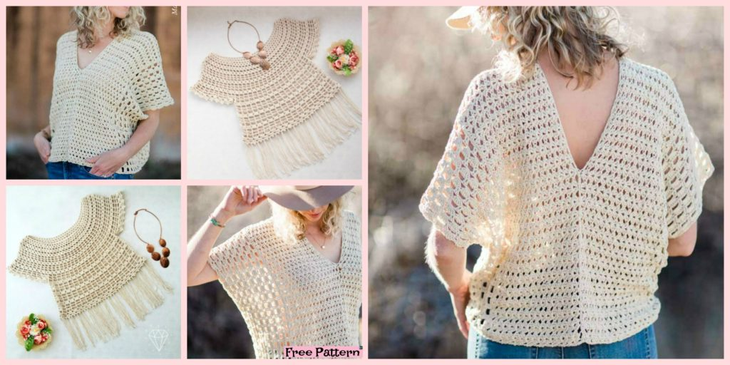 Stylish Crochet Summer Top Free Patterns Diy 4 Ever