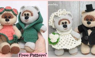 diy4ever- Sweet Crochet Teddy Bear - Free Patterns