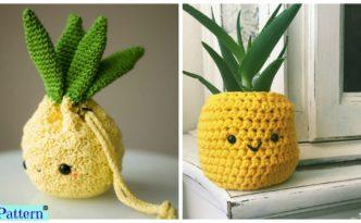 Crochet Amigurumi Pineapple Design Free Patterns F 332x205 - Crochet Amigurumi Pineapple Design - Free Patterns