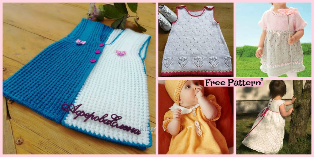 10 Most Unique Knitting Baby Dress Free Patterns Diy 4 Ever