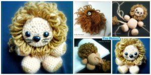 diy4ever-Crochet Little Lion Amigurumi - Free Pattern