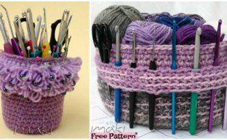 diy4ever Crochet Yarn Basket Free Pattern F 332x205 - Creative Crochet Yarn Basket - Free Pattern