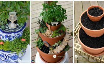 diy4ever DIY Flower Pot Fairy Garden Tutorial F 332x205 - DIY Flower Pot  Fairy Garden - Step by Step Tutorial