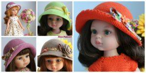 diy4ever-Super Cute Crochet Baby Cap - Free Pattern