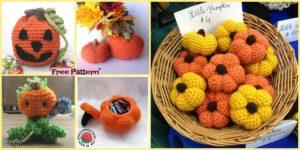 diy4ever-10+ Adorable Crochet Pumpkins - Free Patterns