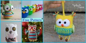 diy4ever-12 Crochet Amigurumi Owl Free Patterns