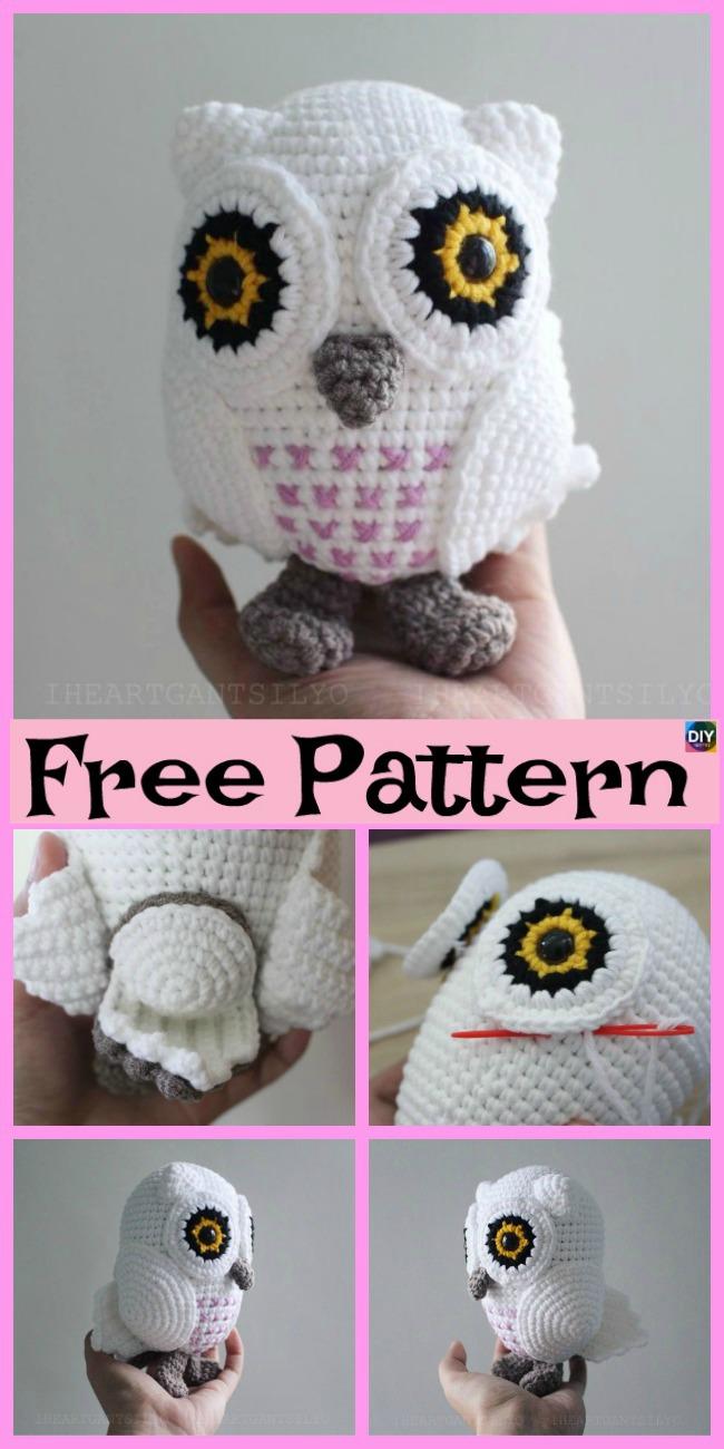 Jip the Owl - Free amigurumi pattern | 1300x650