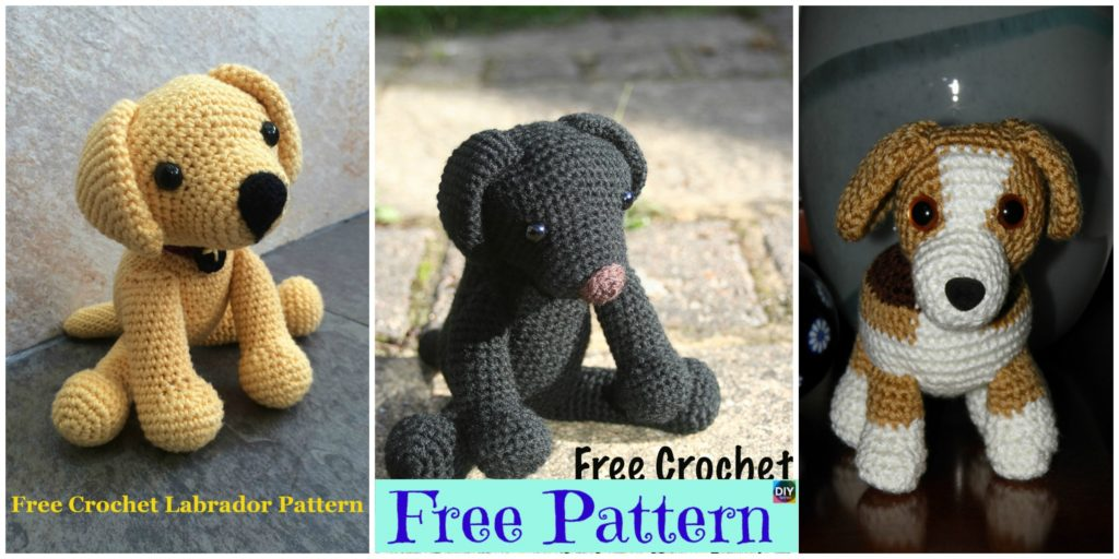 15 Adorable Crochet Puppy Dog Free Patterns Diy 4 Ever