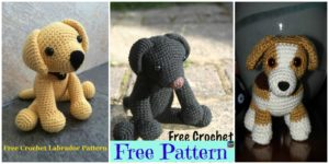diy4ever 15 Adorable Crochet Puppy Dog Free Patterns F1.1 300x150 - Colorful Crochet Sun Rainbow Lovey - Free Pattern