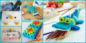 diy4ever 8 Cutest Crocheted Pencil Case Free Patterns F 300x150 - Crochet Pineapple Baby Blanket - Free Pattern