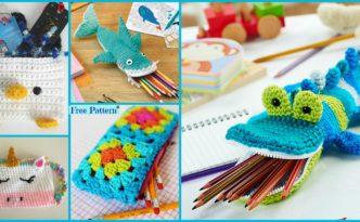 diy4ever 8 Cutest Crocheted Pencil Case Free Patterns F 332x205 - 8 Cutest Crocheted Pencil Case - Free Patterns
