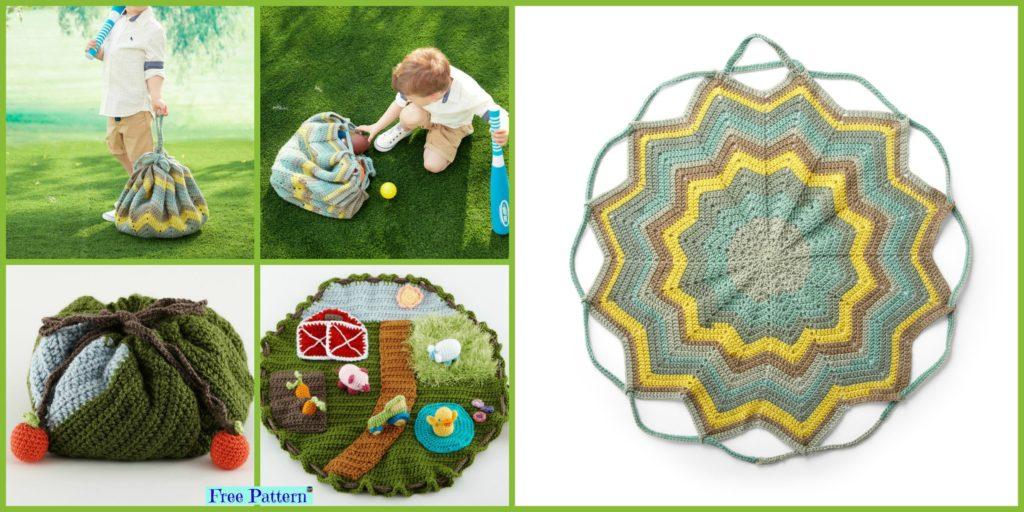 Useful Convertible Crochet Blanket Bag Free Pattern Diy 4 Ever