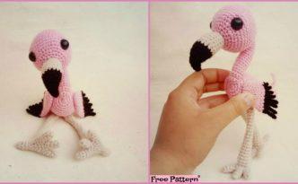 diy4ever Crochet Baby Flamingo Amigurumi Free Pattern F 332x205 - Crochet Baby Flamingo Amigurumi - Free Pattern