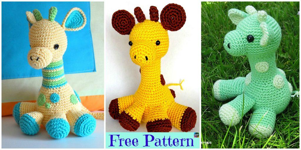 Crochet Baby Giraffe Amigurumi Free Pattern Diy 4 Ever