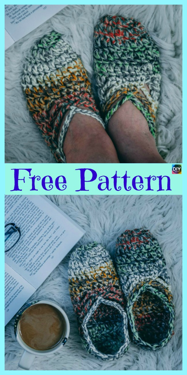 Pretty Crochet Ballet Slippers Free Pattern Diy 4 Ever