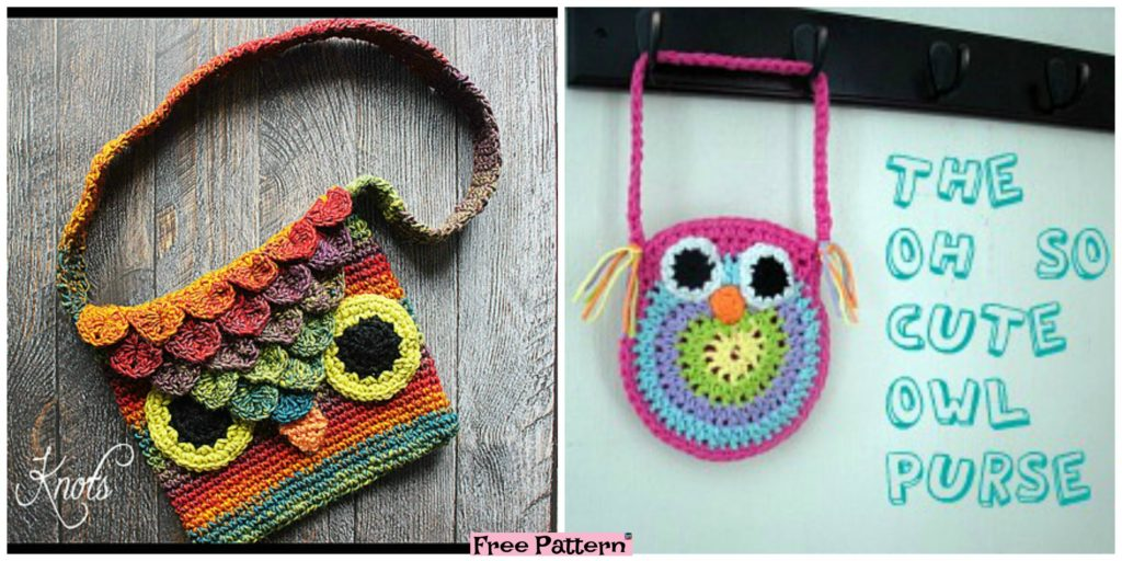 Adorable Crochet Owl Bags Free Patterns Diy 4 Ever