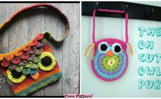 diy4ever Crochet Owl Bags Free Patterns F 332x205 - Adorable Crochet Owl Bags - Free Patterns