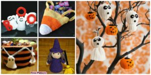 diy4ever 10 Crochet Halloween Decoration Free Patterns F 300x150 - 10 Unique Crochet Throw Free Patterns