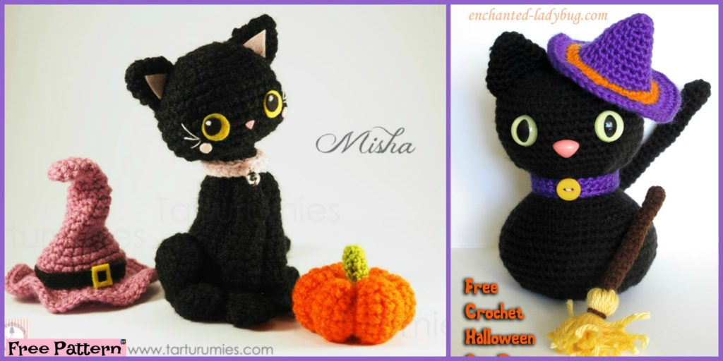 Crochet Amigurumi Black Cat Free Patterns Diy 4 Ever