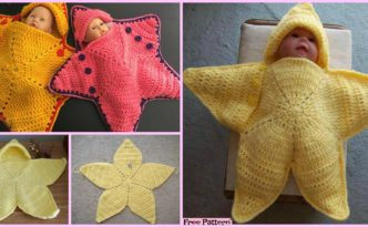 diy4ever- Crochet Baby Star Bunting - Free Pattern
