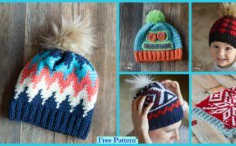 diy4ever-Crochet Hat – Free Patterns
