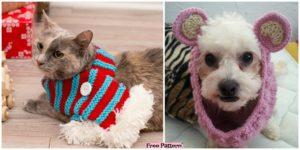diy4ever Crochet Dog Neck Warmer Free Pattern F 300x150 - Cute Crochet Applique Bees - Free Patterns