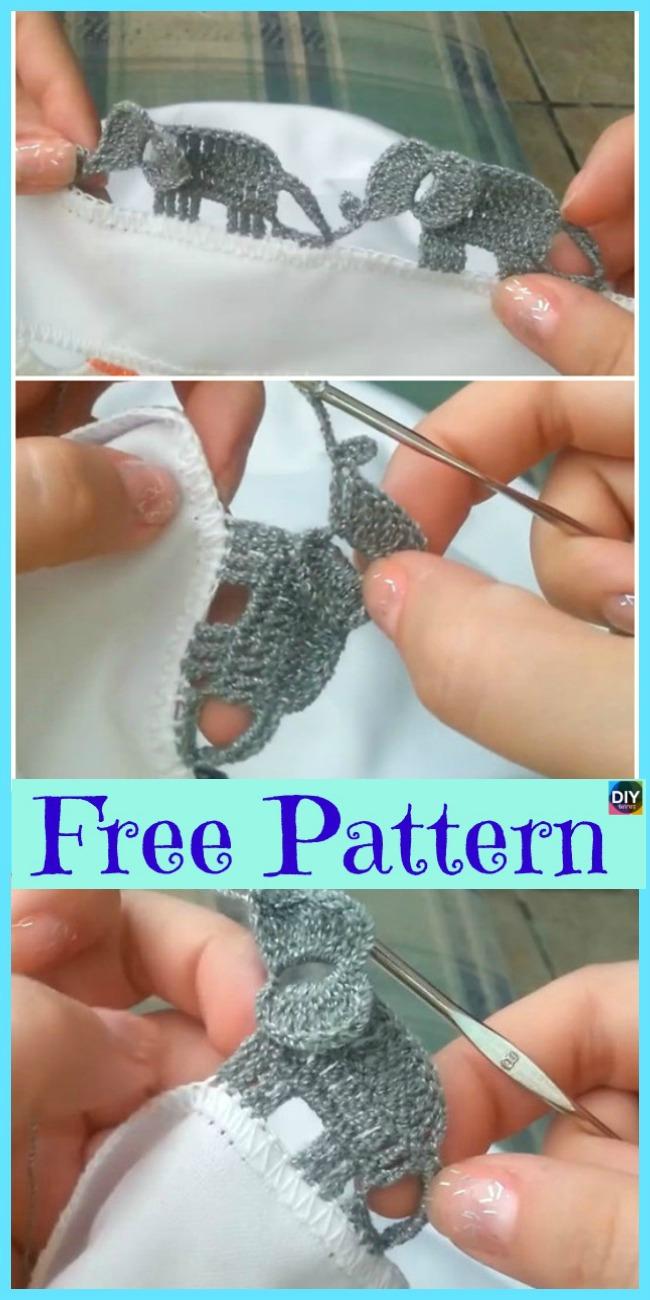 Elephant Pillow Free Crochet Pattern | Häkelelefanten muster ... | 1300x650