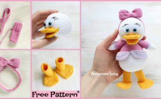 diy4ever Crochet Webby Duck Amigurumi Free Pattern F 332x205 - Crochet Webby Duck Amigurumi - Free Pattern