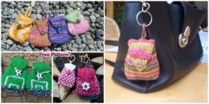 diy4ever Knit Mini Bag Free Pattern F 300x150 - Adorable Knit Kids' Backpack - Free Pattern