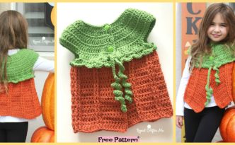 diy4ever Crochet Pumpkin Sweater Vest Free Pattern F 332x205 - Crochet Pumpkin Sweater Vest - Free Pattern