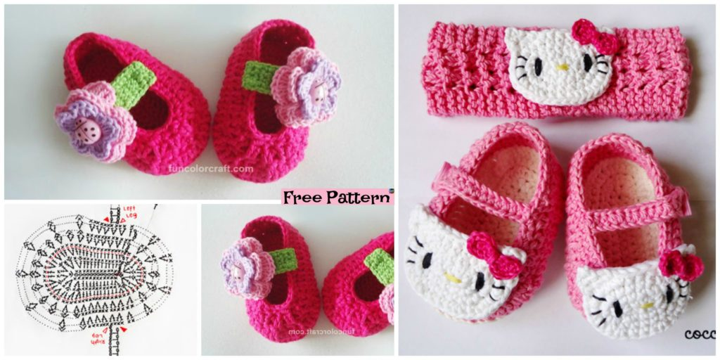 Cute Crocheted Baby Shoes Free Patterns Diy 4 Ever