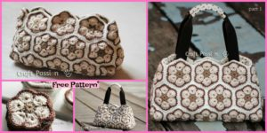 diy4ever Pretty Crochet African Flower Purse Free Pattern F 300x150 - Adorable Crochet Owl Bags - Free Patterns