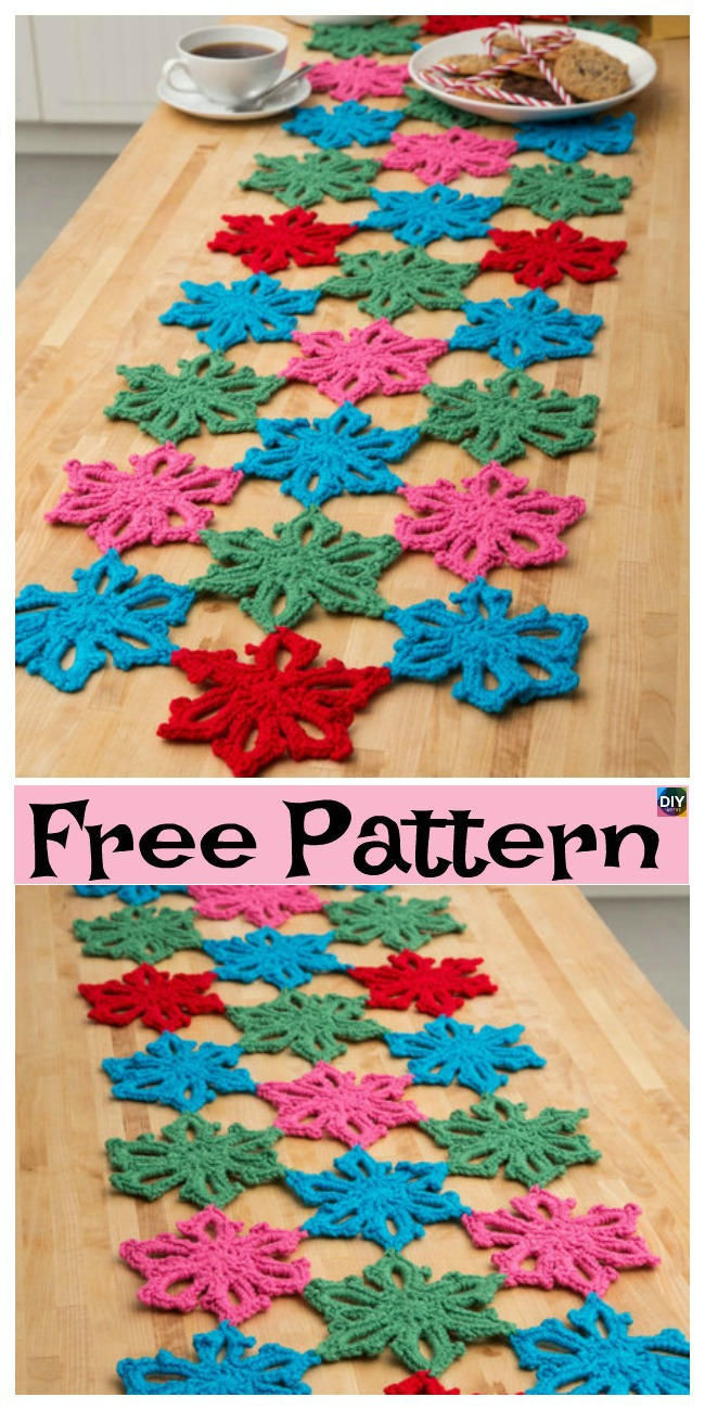 diy4ever-8 Crochet Pretty Snowflake Free Patterns