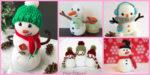 diy4ever-8 Crochet Snowman Amigurumi Free Patterns