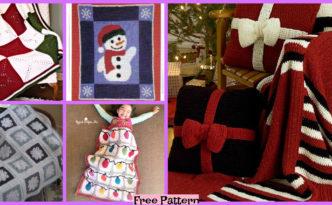 diy4ever-10 Crochet Winter Throws - Free Patterns